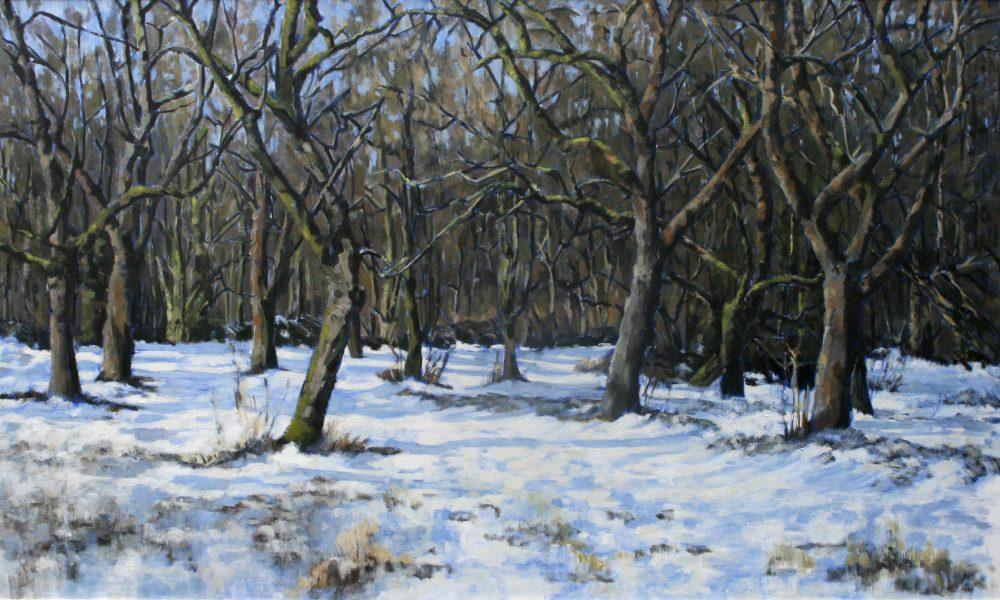 Bärbel Hansmann Malerin in Frankfurt am Main Winterlandschaft